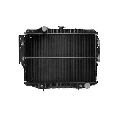 CPP Replacement Radiator RAD1285 for 1992-1993 Dodge D350, Pickup, (Pickup Replacement Radiator)
