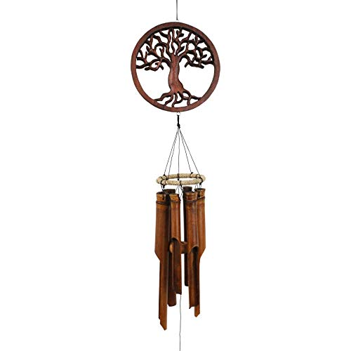 Cohasset Gifts 272 Cohasset Tree of Life Bamboo Wind Chime ()