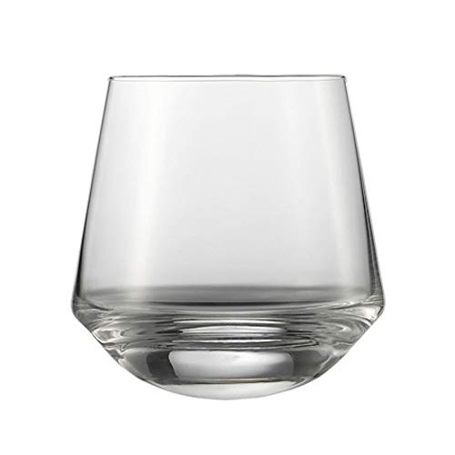 Schott Zwiesel Tritan Crystal Glass Pure Barware  Collection Dancing Party Tumbler Cocktail Glass, 13.4-Ounce, Set of 2