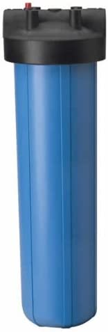 Ultimate Fluoride Removal System AFW Filters AFWFilters CF2-4520-BCBC-PENTEK 20-inch 2 Stage Upgraded PENTEK Big Blue Whole House Filter with DUAL Bone Char Carbon