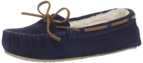 Minnetonka Women's Cally Slipper,Dark Navy,7 M US (The Seven Forgotten Natural Wonders Of The World)