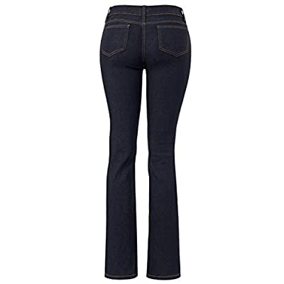Design by Olivia Women's Sexy Stylish Flare Bell Bottom Slim Bootcut Jean at Women's Jeans store