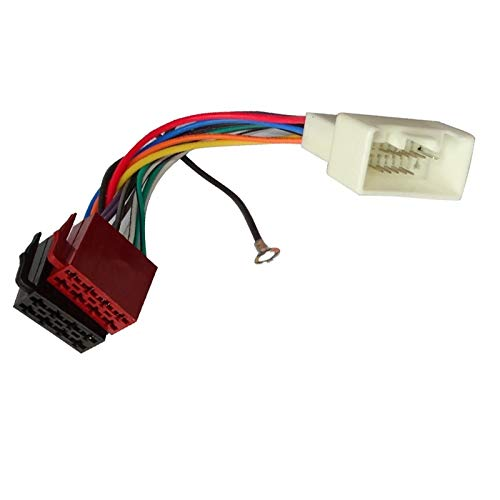 Gimax ISO Standard HARNESS Radio adapter for SUZUKI Jimny Swift Vitara Aerio Alto Grand Vitara Ignis Liana Splash SX4 Wagon R +