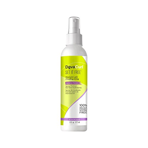 Set Hair Spray - DevaCurl Set it Free Finishing Hair spray; 6 Ounce