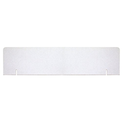 Corrugated Headers Presentation Display - Pacon PAC3761BN Presentation Board Headers, White, 36