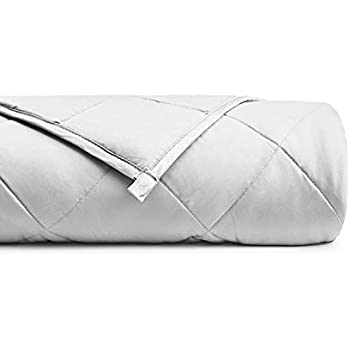 YnM Bamboo Weighted Blanket with 100% Pure Natural Bamboo Viscose | 15lbs for 90-150 lbs individual, 60