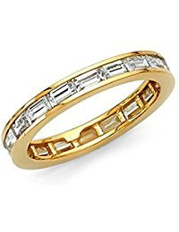 14k Solid Yellow Gold Eternity