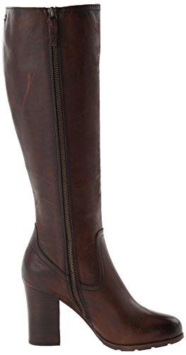 Tall Boot Dark Frye Riding 78646 Brown Women's Parker qBxfC7p