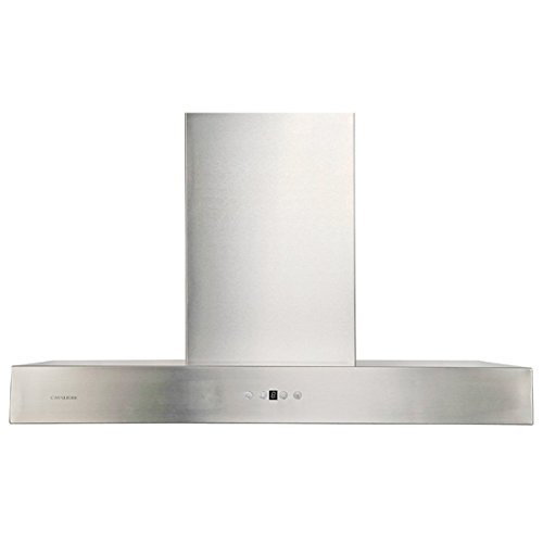 CAVALIERE AP238-PSZ-36 Wall Mounted Stainless Steel Kitchen Range Hood, 860 CFM, 36'' W by CAVALIERE