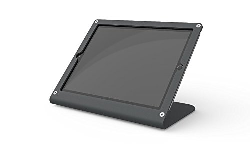 Heckler Design Prime Point of Sale Stand & Enclosure for iPad Air & iPad Pro 9.7-inch in Black & Grey (Compatible with iPad 5th Generation) by Heckler Design