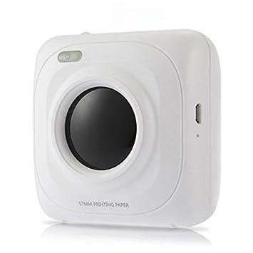 LAY Impresora Bluetooth portátil de Bolsillo Mini Impresora ...