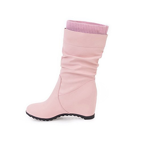 1to9mns02577 - Sandalias Con Cuña Para Mujer, Rosa (rosa), 35