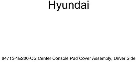 Genuine Hyundai 84715-1E200-OR Center Console Pad Cover Assembly Driver Side