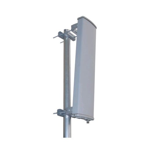 TerraWave M5150150P10006120 120 Degree Sector Panel Antenna with N-Style Jack Connector,4.9-5.85 GHz 15 dBi