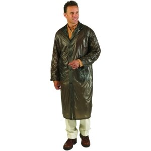 Gray Pvc Jacket (Texsport PVC Raincoat, Gray, Large/X-Large)