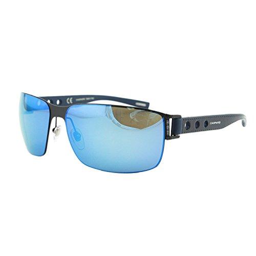 Chopard SCH B31 531B Men Mille Miglia Racing Leather Rectangular Polarized - Miglia Sunglasses Chopard Mille