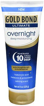 Gold Bond Ultimate Overnight Deep Moisturizing Lotion - 8 oz, Pack of 6 ()
