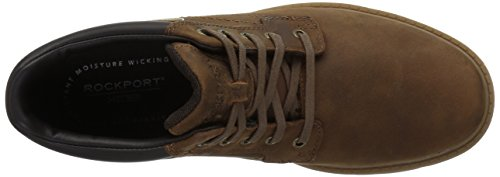 Rockport Heren Storm Rider Effen Teen Winterlaars Boston Tan Leer