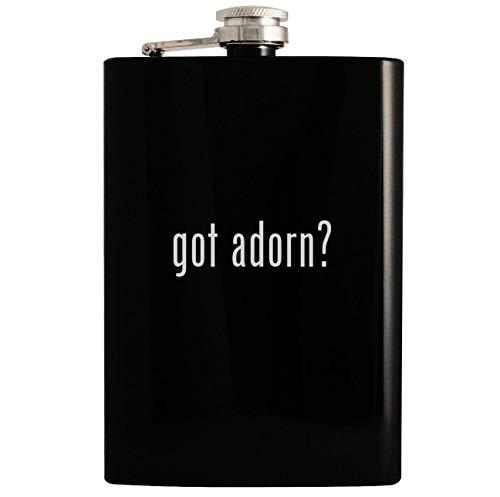 Price comparison product image got adorn - 8oz Hip Drinking Alcohol Flask,  Black