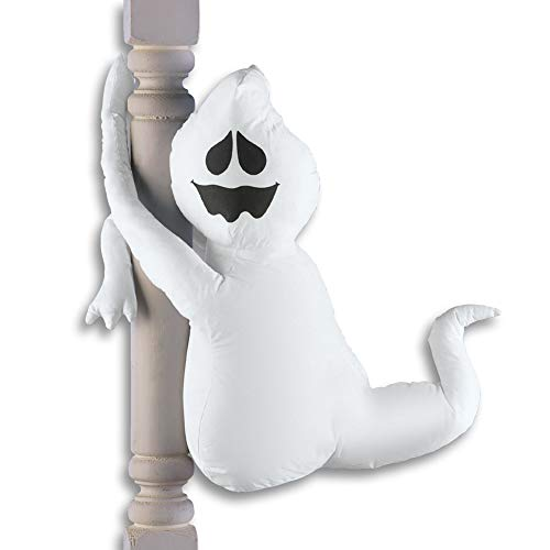 Cute Poseable Halloween Porch Decorations, Ghost by Collections Etc