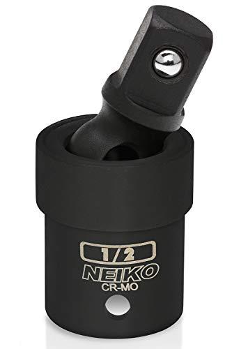 Neiko 02430A Drive Universal Joint Impact Socket, Cr-Mo Steel, 1/2