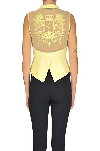 Poliéster Mujer Franchi Ezgl026030 Top Amarillo Elisabetta xPpqg8nwWC