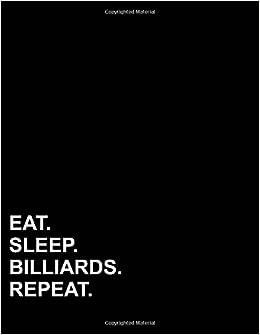 eat sleep billiards repeat six column ledger accounting ledgers for