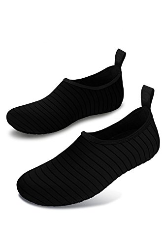 Quick Women Water Barefoot Aqua Surf Men Dry Shoes Black YACUN Socks wqCfOXZ5S