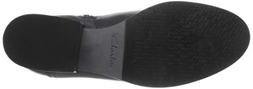 pour moto noires bottes de Dream femmes noir cuir Elvina Clarks SwXqvIBw