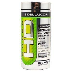 Cellucor Super HD | thermogénique Fat Burner | Focus énergie et la perte d'appétit Contrôle du poids Supplément | 120 capsuels
