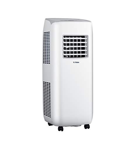 Titan 10000BTU Portable Air Conditioner with Remote Control Dehumidifier and Cooling Fan For Rooms Up To 350 sq ft With…