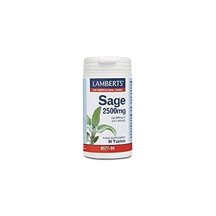 Salvia 90 comprimidos 2500 mg de Lamberts