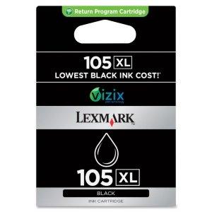 Lexmark (#105XL) Prestige Pro805, Platinum Pro905 High Yield Black Return Program Ink Cartridge (510 Yield), Part Number (Lexmark Pro709)