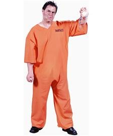 Got Busted! Adult Costume - Plus (Your Busted Halloween Costume)