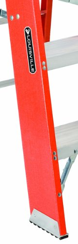 Louisville Ladder FY8003 300-Pound Duty Rating Fiberglass Step Stand Ladder, 3-Foot by Louisville Ladder (Image #2)