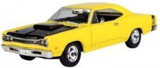 [Yellow 1969 Dodge Coronet Super Bee 1:24 Scale Diec Cast Car] (1969 Dodge Coronet Super Bee)