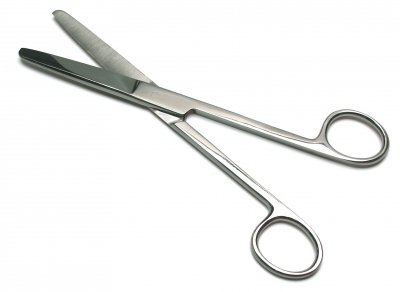 """OPERATING DISSECTING DRESSING SCISSORS 6.5/"""" STRAIGHT SHARP SHARP SURGICAL"""