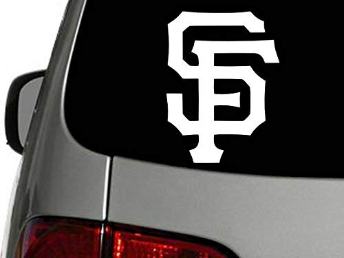 Yilooom San Francisco Giants Vinyl Decal Car Window Sticker - 7 Inches