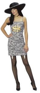 Miss Money Gangsta Adult Halloween Costume Size Standard