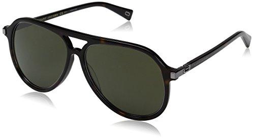 Marc-Jacobs-Mens-Marc174s-Aviator-Sunglasses-Dark-HavanaGreen-58-mm