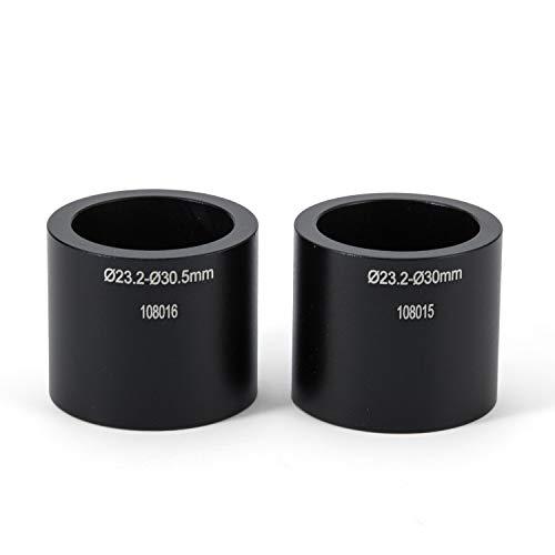 """SWIFT Mikroskop Kamera Aadapter Paar für Stereo Mikroskop zum Anschluss an Okular Kamera,geeignet für Tubusgrößen von 23,2 mm (0,91"""") bis 30 mm (1,18"""") / 23,2 mm (0,91"""") bis 30,5 mm (1,20"""")"""