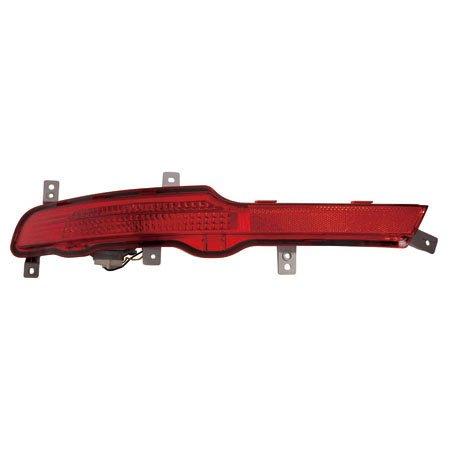 carlights360 Fits Kia Sportage 2011 – 2016 Reflectorアセンブリバンパードライバ側ki1184103 B074NLY3FC
