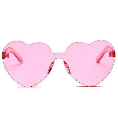 SUNGLASSES, Forthery WOMEN FASHION RETRO CLASSIC HEART-SHAPED POLARIZED SUN GLASSES - Shaped Goggles Heart