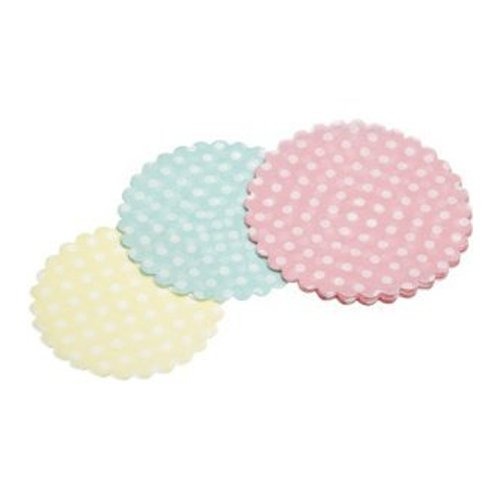 KitchenCraft Sweetly Does It Mini Paper Doilies, Pack of 30 KCCUPDOILPK30