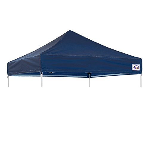 Impact Canopy 8' x 8' Pop-Up Canopy Tent Top, Replacement Cover Only, Navy - Impact Top Canopy
