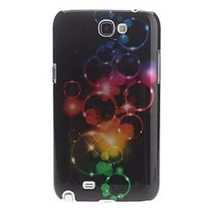 CECT STOCK Burbuja 3D Caso duro del patrón de efecto para Samsung Galaxy Note N7100 2