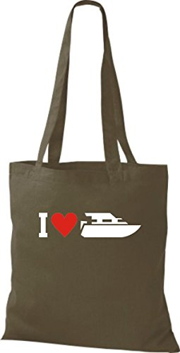 Yate Oliva Love Bolsa Skipper Tela De I Yute Capitán gwXTx7n6XZ