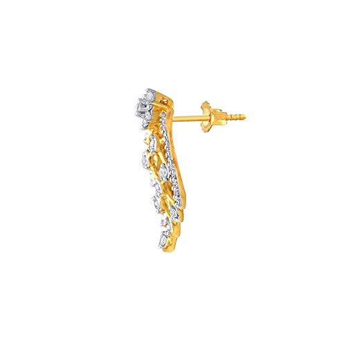 Giantti Diamant Pendentif Femme Collier (0.3656CT, qualité HSI, Gh-colour)