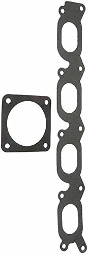 (APDTY 726816 Upper Intake Gasket Set - Includes Intake And Throttle Body Gasket For 2000-2006 VW/Audi w/1.8L Turbo VIN AWD (View Compatibility Chart For Your Specific Model) (Replaces 06A133201CM))