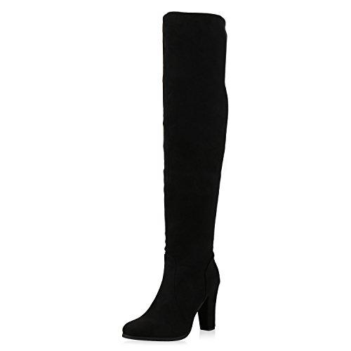 Damen Online Verkauf napoli fashion Stiefel Overknees 70s